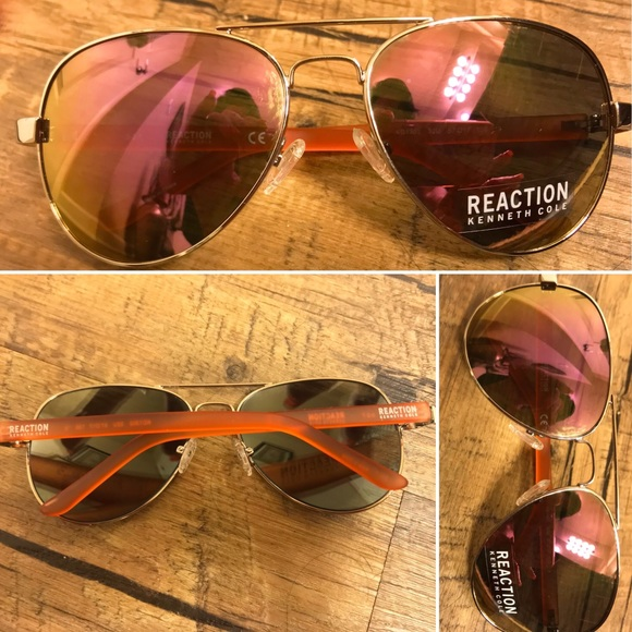 3c0def777 Kenneth Cole Reaction Accessories | Newkenneth Cole Aviator Sun ...